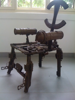 Machine gun art
