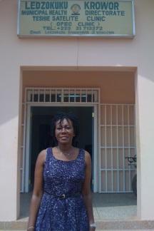 Dr. Wiafe at LEKMA