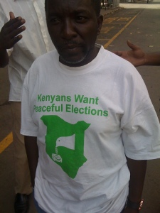 Peaceful elections in Kenya