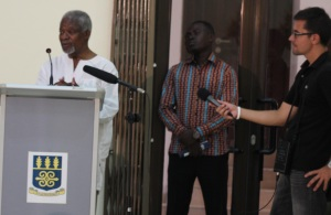 Kofi Annan and I