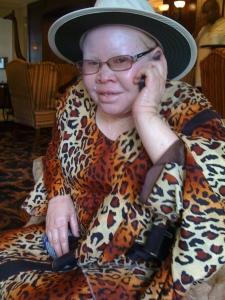 Martha on phone
