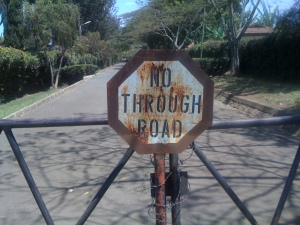 PPF - no through road