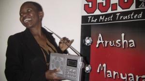 Rotlinde Achimpota at MJ FM