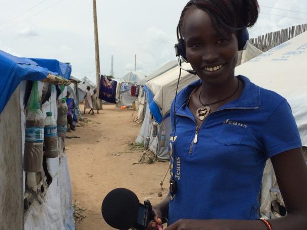 Riak Akech learned some journalism skills to make radio