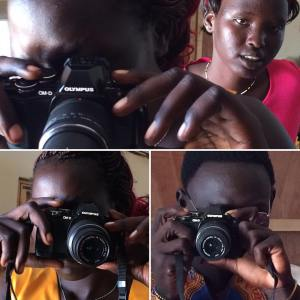 Young Reporters camera training
