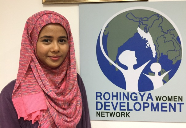 Sharifah Husain is the founder of Rohingya Women's Development Network in Malaysia