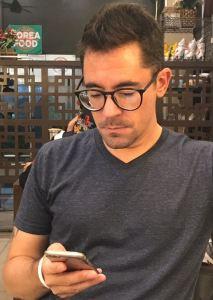 Adam Bemma in Medan, Indonesia.