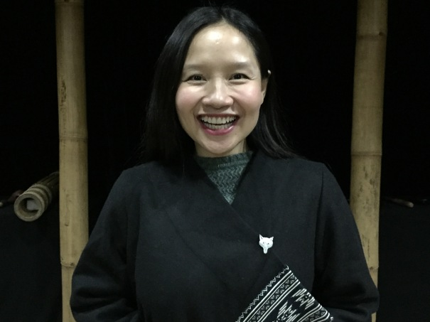 Mai Khoi at Phu Sa Lab studio in Hanoi